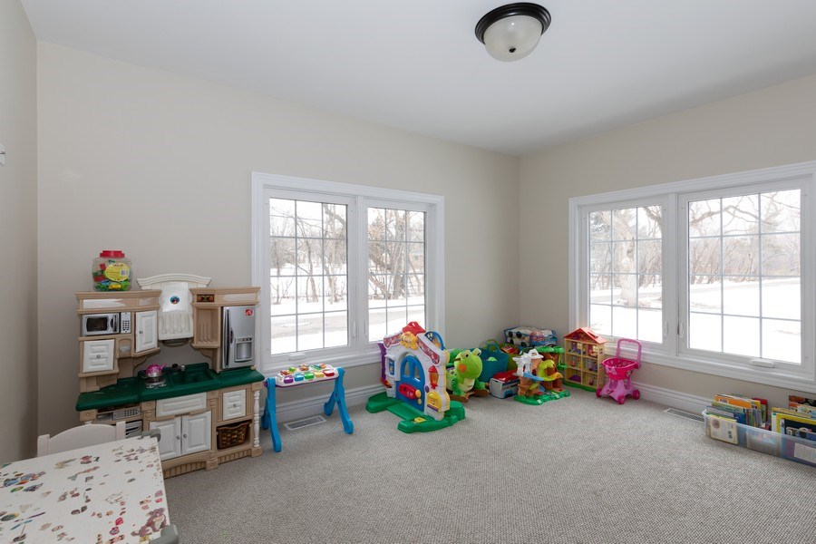 Real Estate Photography - 104 Crooked Creek, Barrington, IL, 60010 - Play / Recreational Room