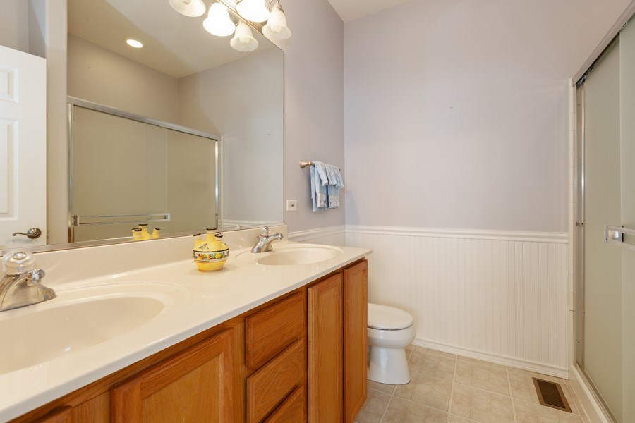 Real Estate Photography - 2933 Talaga Drive, Algonquin, IL, 60102 - Master Bathroom
