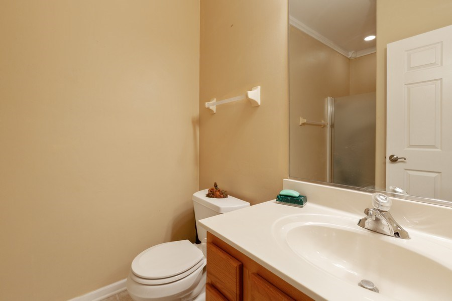 Real Estate Photography - 2933 Talaga Drive, Algonquin, IL, 60102 - 2nd Bathroom
