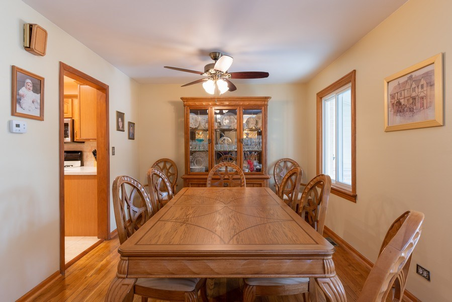 Real Estate Photography - 305 Glendale Ln, Hoffman Estates, IL, 60169 - Dining Room