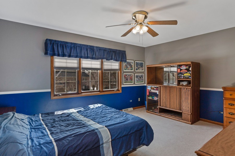 Real Estate Photography - 2342 Preston Ln, West Dundee, IL, 60118 - 2nd Bedroom