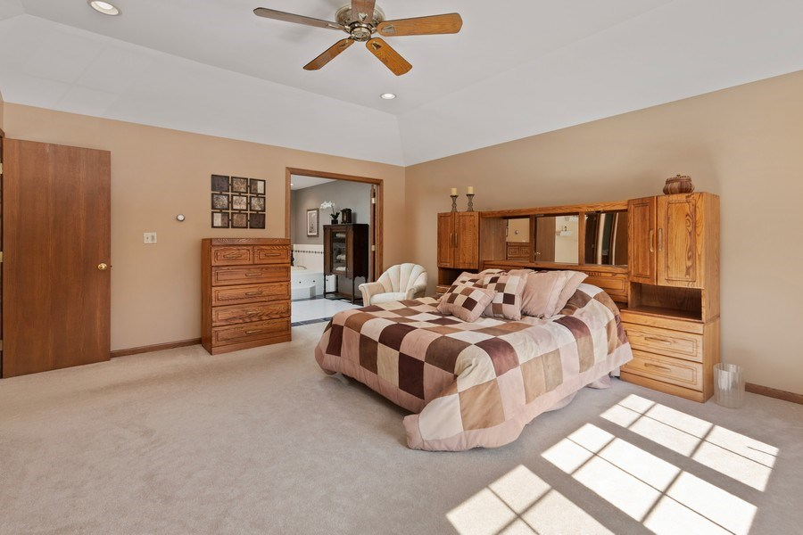 Real Estate Photography - 2342 Preston Ln, West Dundee, IL, 60118 - Master Bedroom
