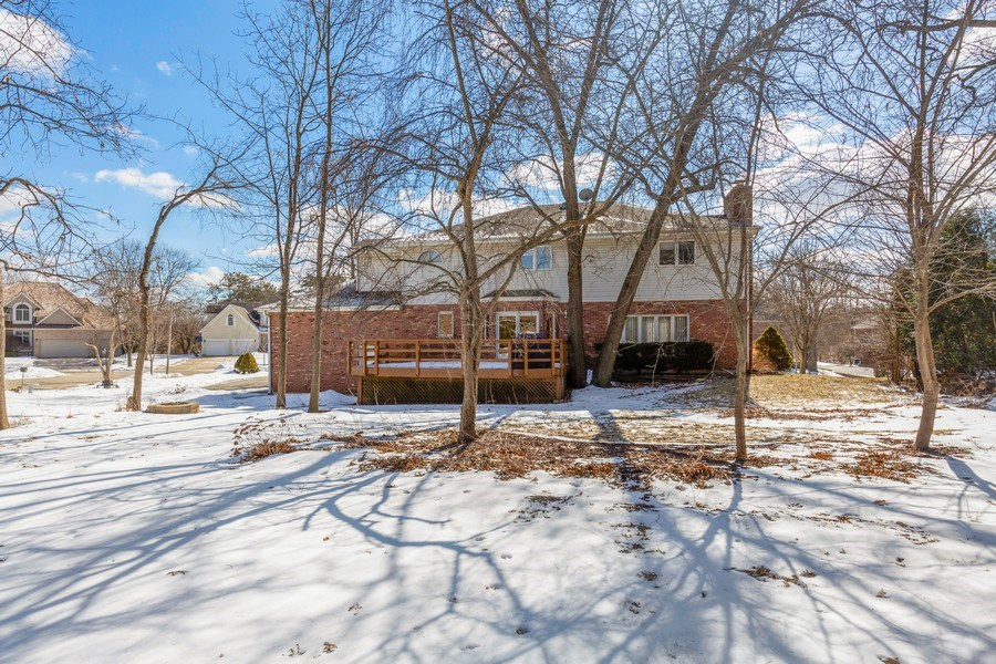 Real Estate Photography - 2342 Preston Ln, West Dundee, IL, 60118 - Rear View