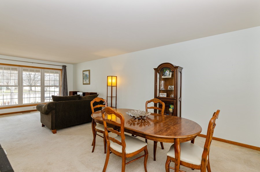 Real Estate Photography - 2000 Tahoe Parkway, Algonquin, IL, 60102 - Living Room/Dining Room
