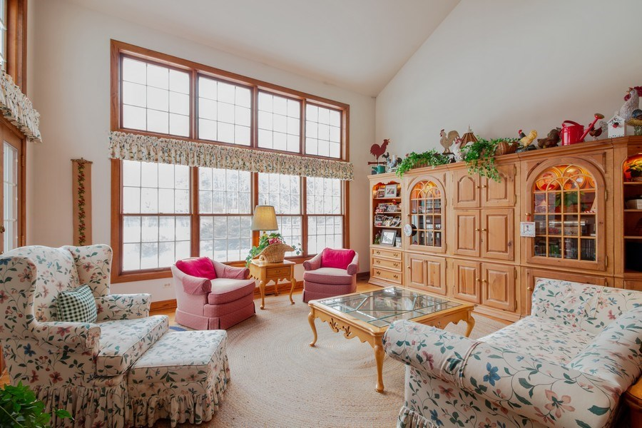 Real Estate Photography - 1212 Bull Valley Drive, Woodstock, IL, 60098 - Living Room