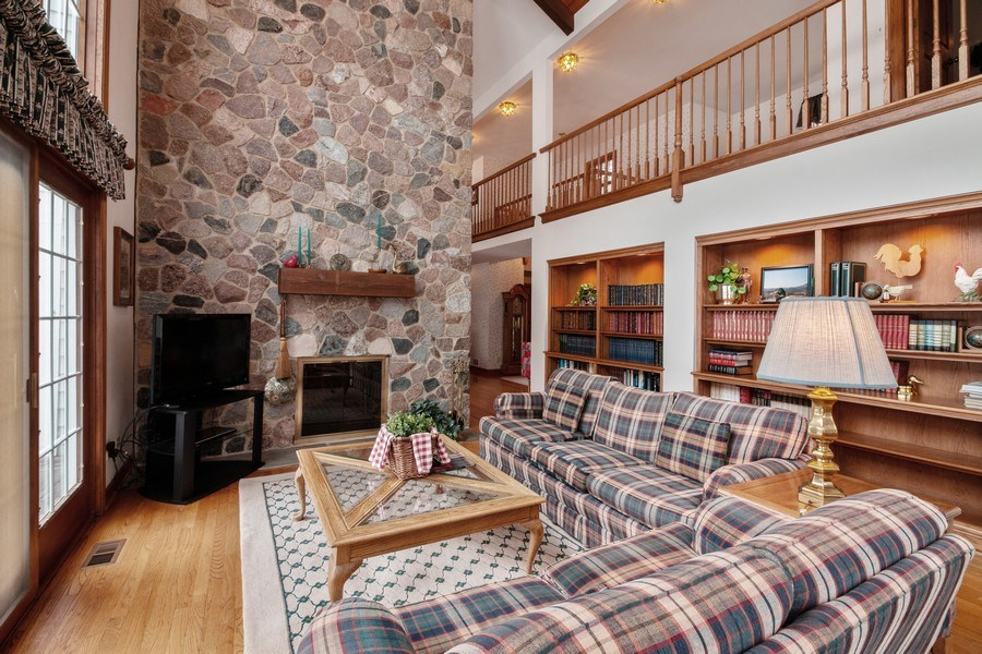 Real Estate Photography - 1212 Bull Valley Drive, Woodstock, IL, 60098 - Family Room