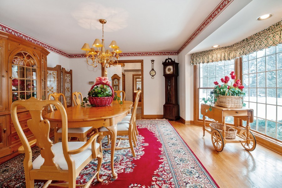 Real Estate Photography - 1212 Bull Valley Drive, Woodstock, IL, 60098 - Dining Room