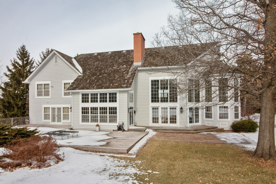Real Estate Photography - 1212 Bull Valley Drive, Woodstock, IL, 60098 - Rear View
