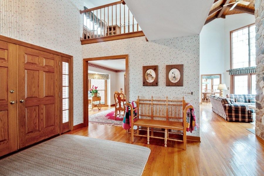Real Estate Photography - 1212 Bull Valley Drive, Woodstock, IL, 60098 - Entryway