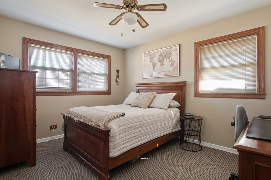 Real Estate Photography - 1020 N Stratford Rd, Arlington Heights, IL, 60004 - 2nd Bedroom