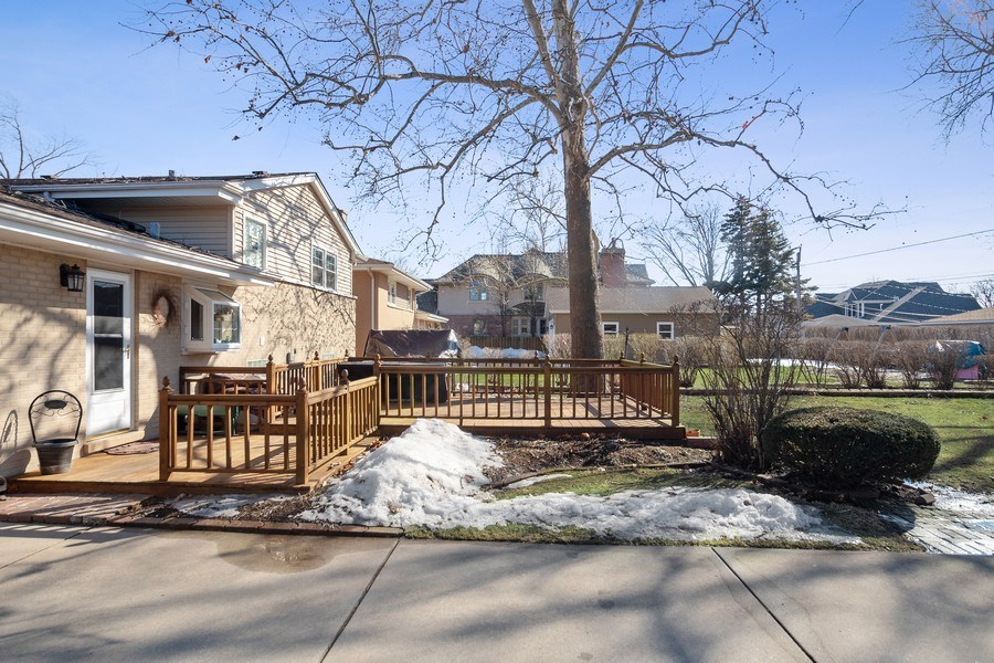 Real Estate Photography - 1020 N Stratford Rd, Arlington Heights, IL, 60004 - Back Yard