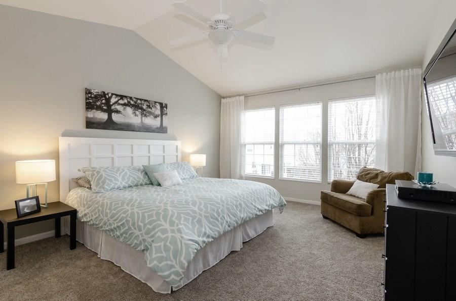 Real Estate Photography - 3117 Erika Lane, Carpentersville, IL, 60110 - Master Bedroom