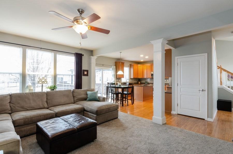Real Estate Photography - 3117 Erika Lane, Carpentersville, IL, 60110 - Family Room