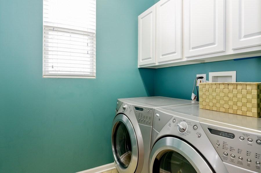 Real Estate Photography - 3117 Erika Lane, Carpentersville, IL, 60110 - Laundry Room