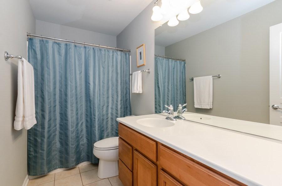 Real Estate Photography - 3117 Erika Lane, Carpentersville, IL, 60110 - 2nd Bathroom