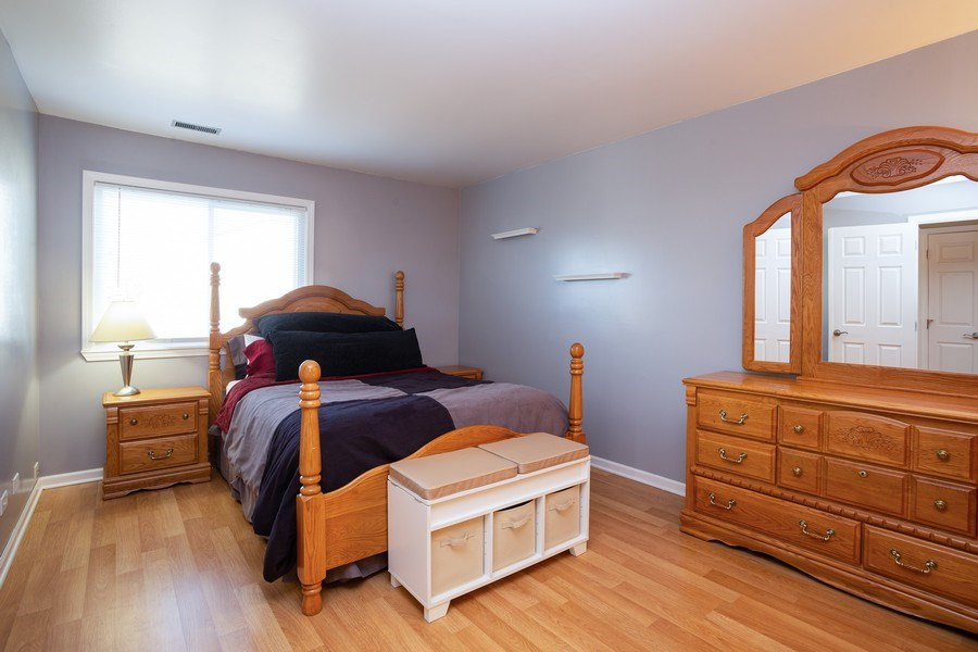 Real Estate Photography - 1014 Boston Cir., Schaumburg, IL, 60193 - Master Bedroom