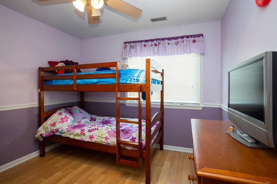 Real Estate Photography - 1014 Boston Cir., Schaumburg, IL, 60193 - Bedroom
