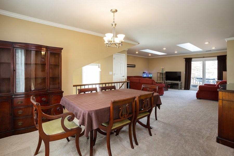 Real Estate Photography - 1014 Boston Cir., Schaumburg, IL, 60193 - Living Room/Dining Room