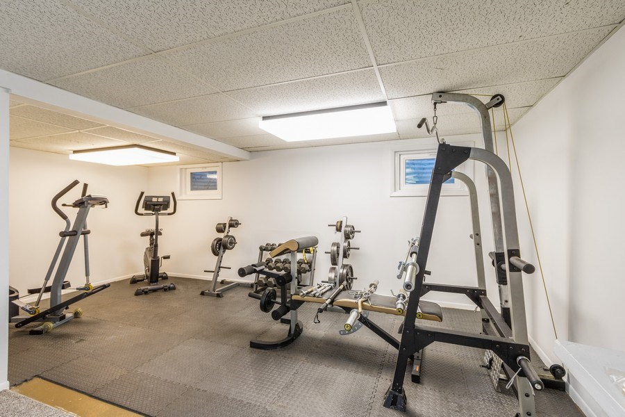 Real Estate Photography - 1241 W Bedford, Palatine, IL, 60067 - Exercise Room