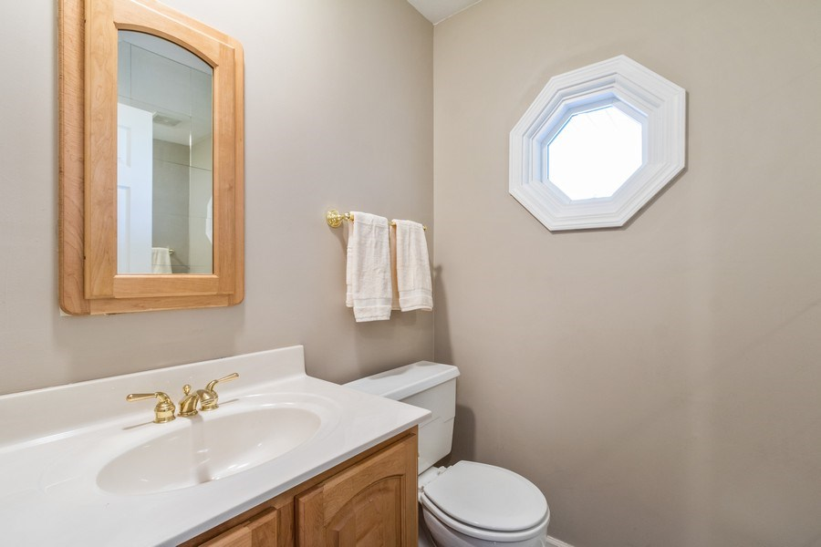Real Estate Photography - 1241 W Bedford, Palatine, IL, 60067 - Powder Room