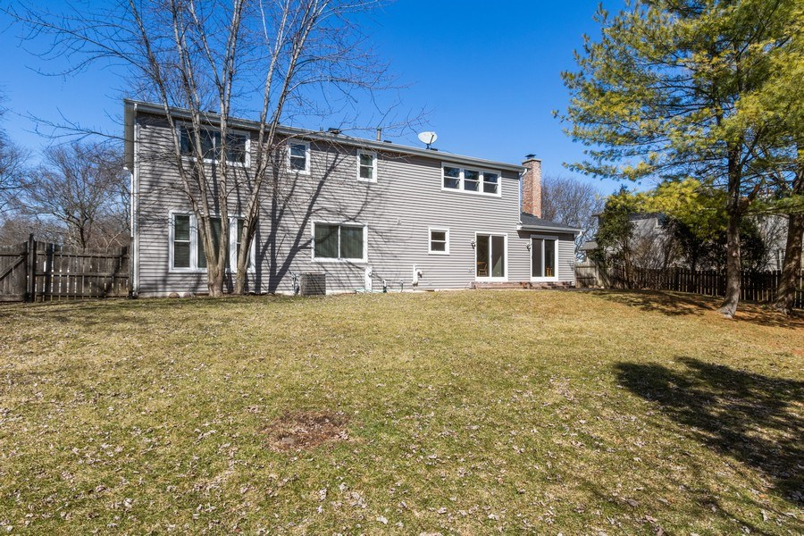 Real Estate Photography - 1241 W Bedford, Palatine, IL, 60067 - Rear View