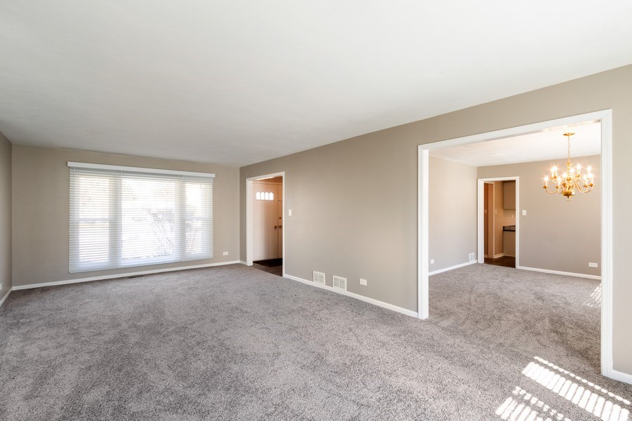 Real Estate Photography - 1241 W Bedford, Palatine, IL, 60067 - Living Room / Dining Room