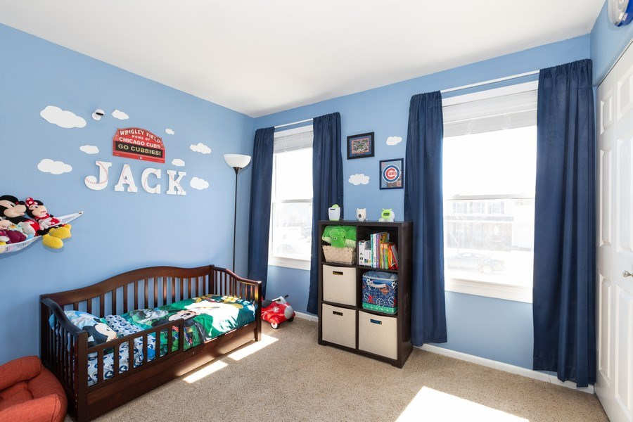 Real Estate Photography - 1330 N Parkview Ter, Algonquin, IL, 60102 - 2nd Bedroom