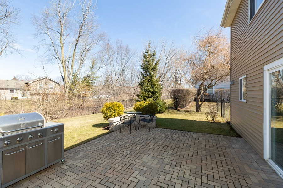 Real Estate Photography - 1330 N Parkview Ter, Algonquin, IL, 60102 - Patio