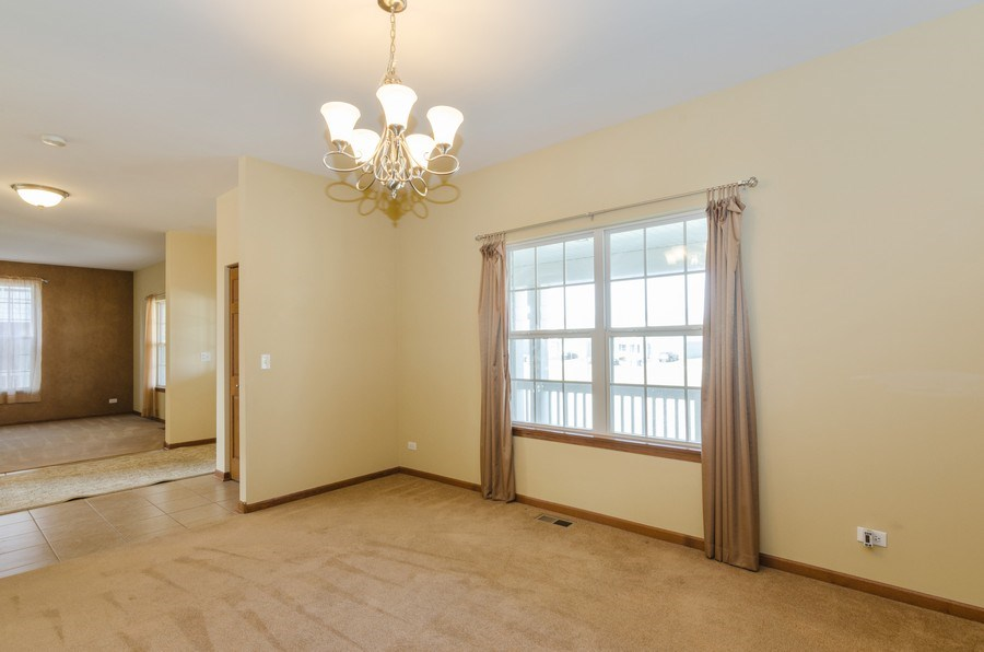 Real Estate Photography - 213 Dawn Court, Elgin, IL, 60124 - Dining Room