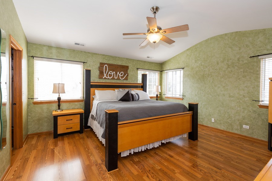 Real Estate Photography - 220 Katrina, Algonquin, IL, 60102 - Master Bedroom