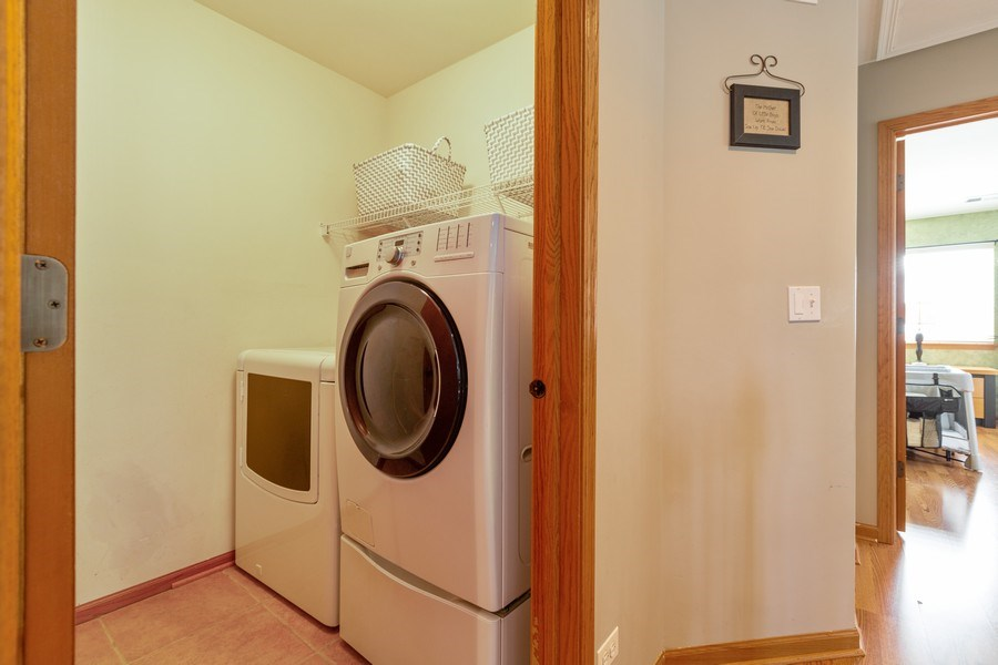Real Estate Photography - 220 Katrina, Algonquin, IL, 60102 - Laundry Room