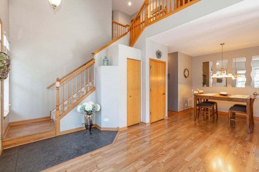 Real Estate Photography - 220 Katrina, Algonquin, IL, 60102 - Staircase