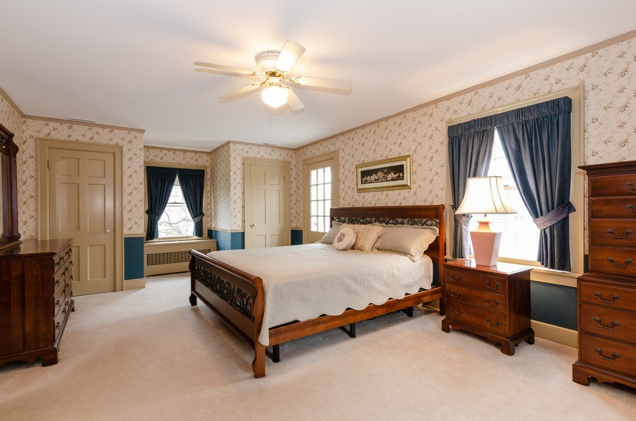 Real Estate Photography - 1109 Logan Ave, Elgin, IL, 60120 - Master Bedroom