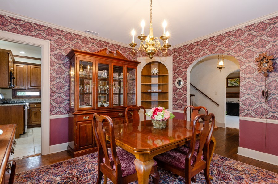 Real Estate Photography - 1109 Logan Ave, Elgin, IL, 60120 - Dining Room