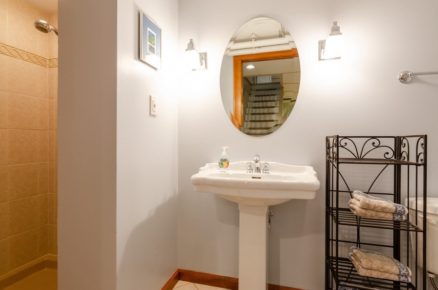 Real Estate Photography - 1109 Logan Ave, Elgin, IL, 60120 - 2nd Bathroom