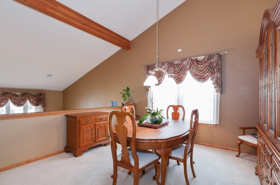 Real Estate Photography - 1025 Greenbriar Dr.,, Glendale Heights, IL, 60139 - Dining Room