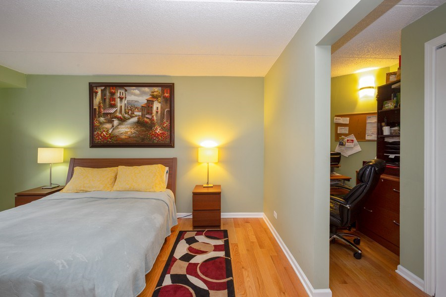 Real Estate Photography - 1441 E THACKER #204, DES PLAINES, IL, 60016 - Master Bedroom