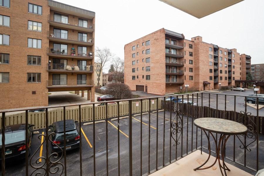 Real Estate Photography - 1441 E THACKER #204, DES PLAINES, IL, 60016 - Balcony