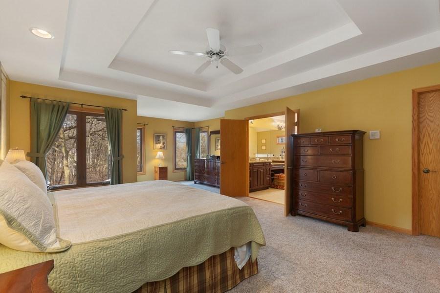 Real Estate Photography - 1210 Ivy Lane, Algonquin, IL, 60102 - Master Bedroom