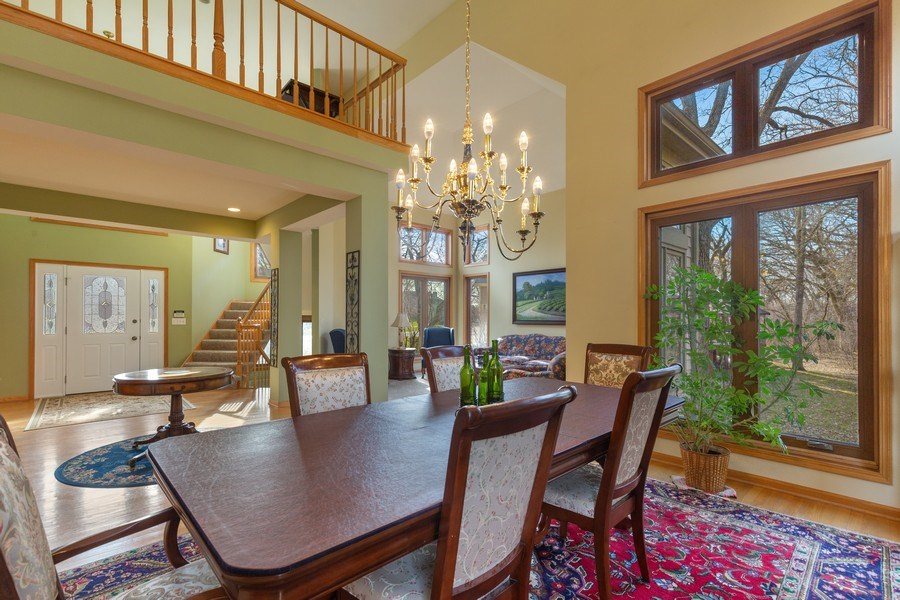 Real Estate Photography - 1210 Ivy Lane, Algonquin, IL, 60102 - Dining Room