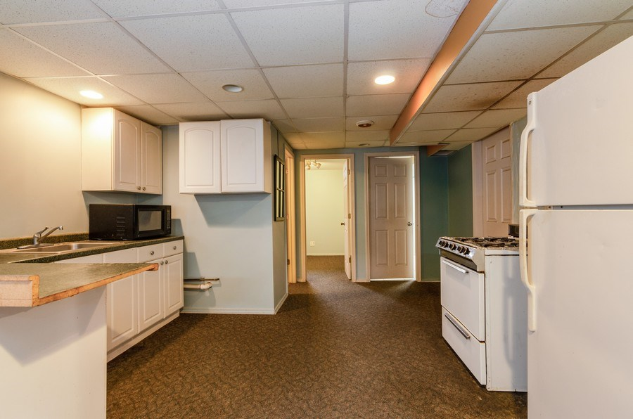 Real Estate Photography - 1263 Dogwood Ct., Elgin, IL, 60120 - Basement