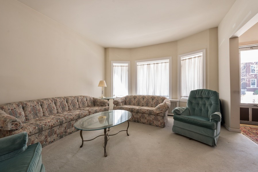 Real Estate Photography - 3034 W Wilson Ave, Chicago, IL, 60625 - Living Room