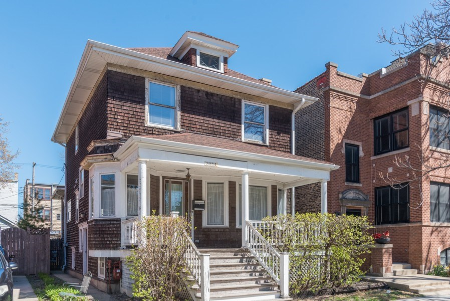 Real Estate Photography - 3034 W Wilson Ave, Chicago, IL, 60625 - Front View