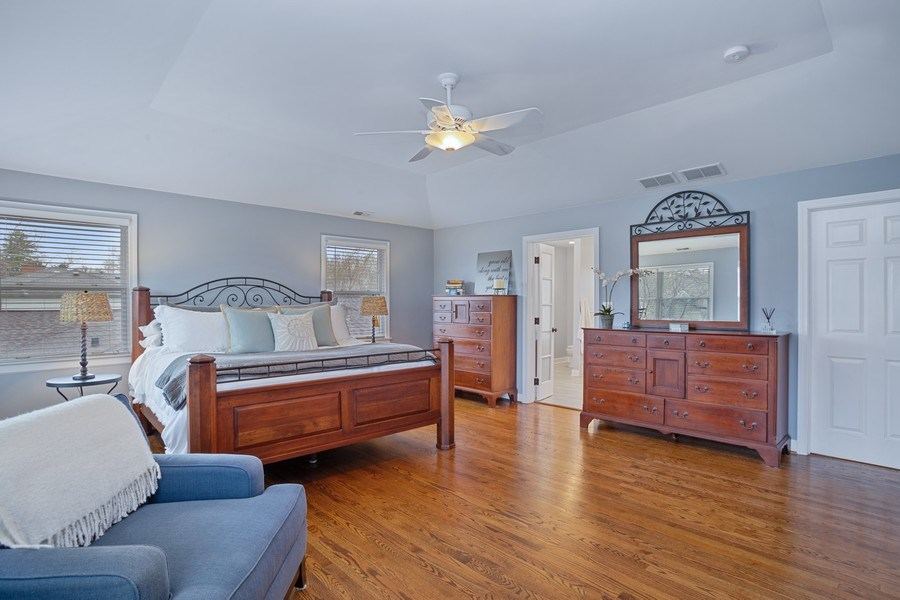 Real Estate Photography - 405 S We Go Trail, Mount Prospect, IL, 60056 - Master Bedroom