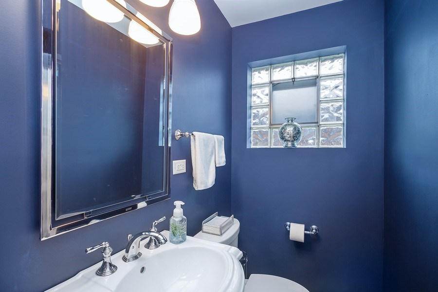 Real Estate Photography - 405 S We Go Trail, Mount Prospect, IL, 60056 - Powder Room