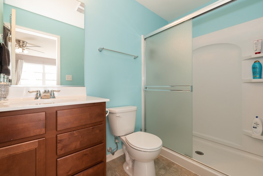 Real Estate Photography - 1686 Ruby Dr, Pingree Grove, IL, 60140 - Master Bathroom