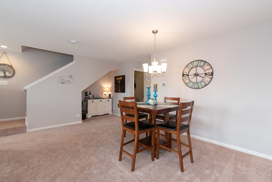 Real Estate Photography - 1686 Ruby Dr, Pingree Grove, IL, 60140 - Dining Room