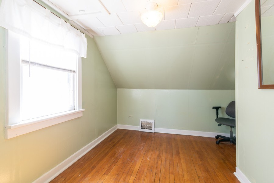 Real Estate Photography - 9131 New England Ave., Morton Grove, IL, 60053 - 2nd Bedroom