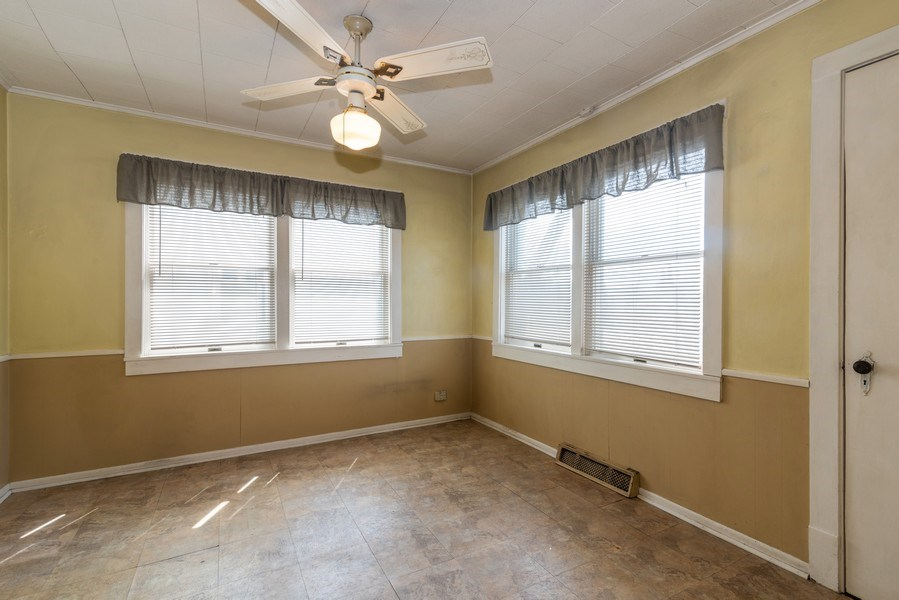 Real Estate Photography - 9131 New England Ave., Morton Grove, IL, 60053 - Dining Room