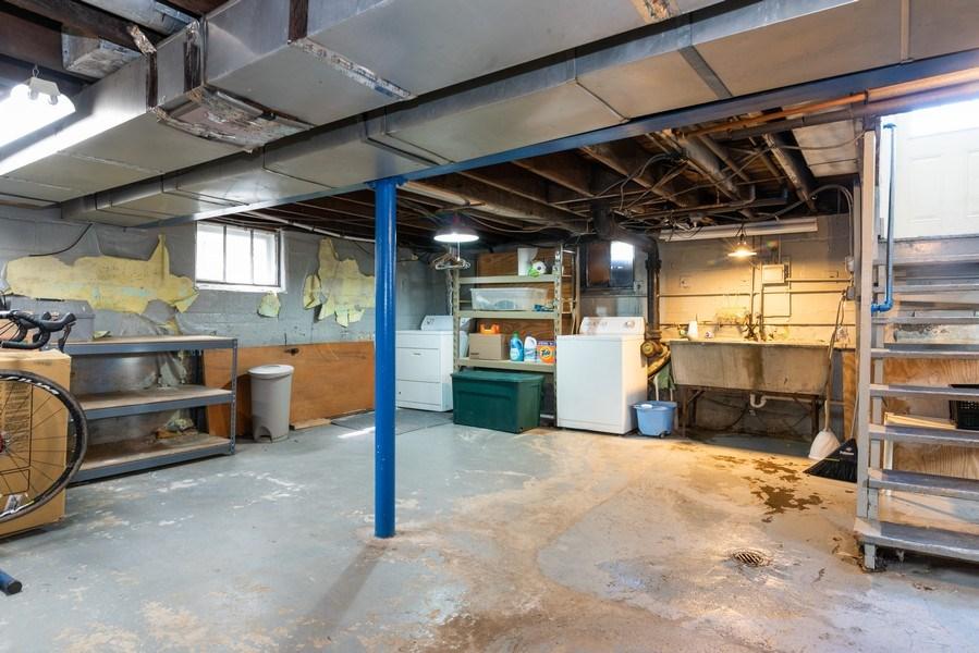Real Estate Photography - 9131 New England Ave., Morton Grove, IL, 60053 - Basement
